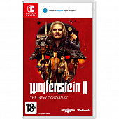 Nintendo Switch игра Nintendo Wolfenstein II - The New Colossus